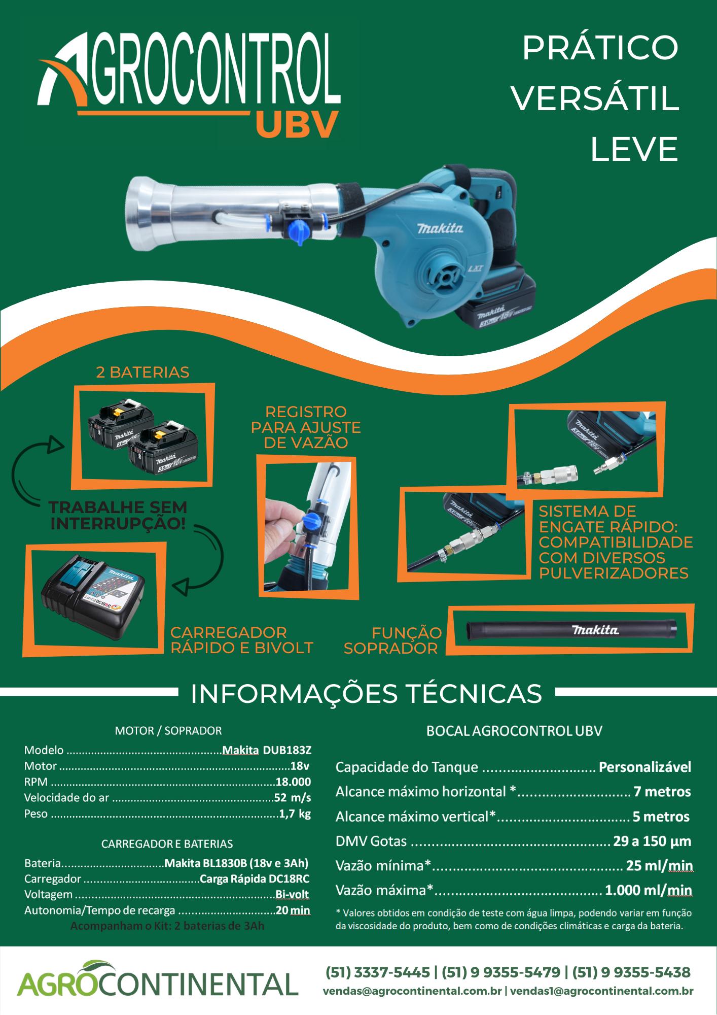 Ficha Técnica - Agrocontrol UBV